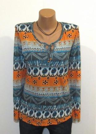 Стильная блуза от street one размер: 46-м