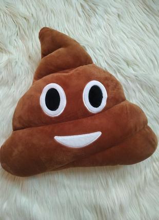 Emoji smile мягкая подушка,  автомобильная,  декоративная смайл эмодзи какашка
