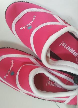 Детские аквашузы на девочку бренда pepperts3 фото