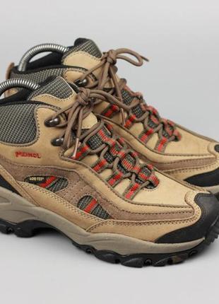 Фирменные кожаные ботинки/термоса на гортексе!