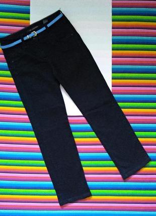Черные стрейчевые джинсы lift slim&shape next размер 12 наш 46 цена 185 грн