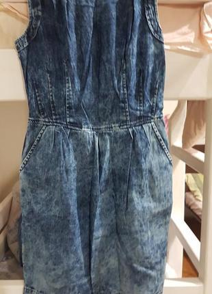 Платье джинсовое варенка