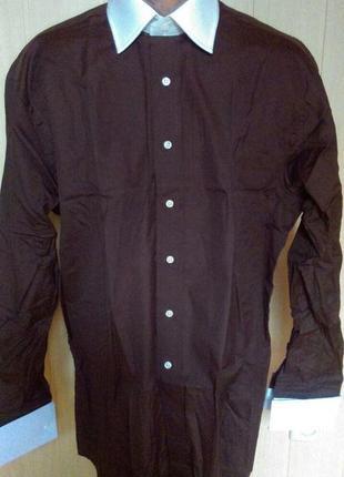Рубашка под запонку