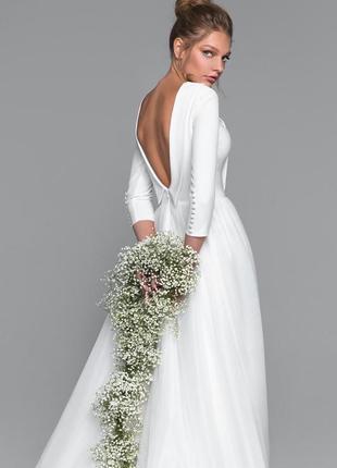 Весільна сукня/весільне плаття/ crystal eva lendel