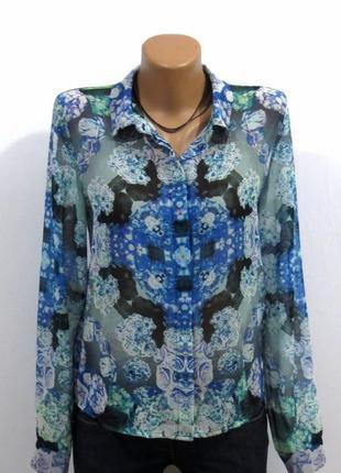 Роскошная блуза рубашка от monki размер: 46-s, m