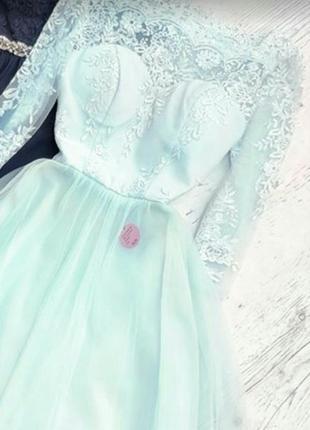 Платье торжественное, вечірнє плаття (14)46-48розмір