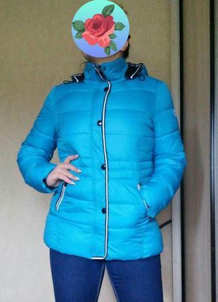 Демисезонная куртка стёганная курточка большого размера