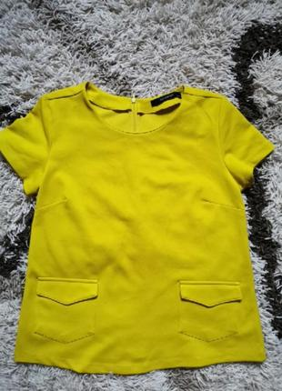 Шикарная блуза reserved фисташкового цвета
