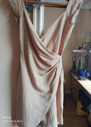 Платье emporio armani льняное