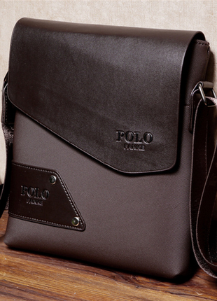 Качественная и стильная мужская сумка поло polo