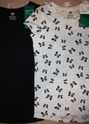 Набор футболок на 6-8 лет. h&m. италия