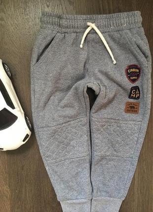 Тёплые штаны на осень на мальчика /спорт