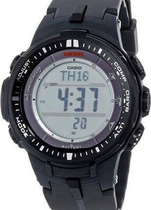 Мужские часы casio pro trek prw-3000-1cr