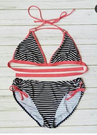 Неймовірний купальник в полоску від new look m-l