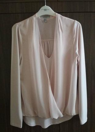 Блузка нарядна /блузка цвета пудры