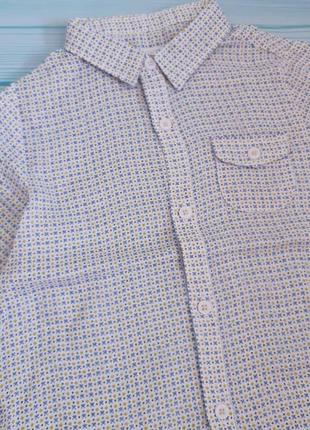 Стильная рубашка zara 2-3года 92,86см