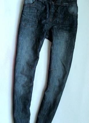 Фирменные джинсы urban 65 outlaws 10-11л р.140-146 slim leg