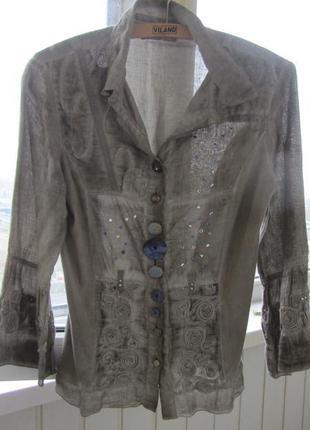 Блузка модного и дорогого дизайнера elisa cavaletti