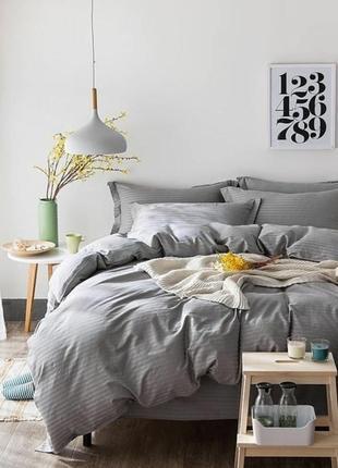 Постільна білизна, постіль, страйп-сатин, постельное белье