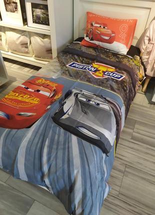 Постельное белье tac disney — cars 3