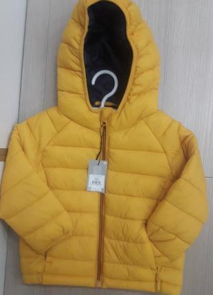 Куртка від primark.від 6міс до 3-× років.