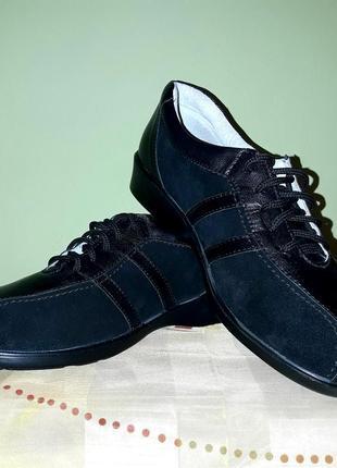 Туфли кожа спортивного типа кроссовки.1 фото
